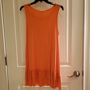 Easiel brand Orange boutique tunic